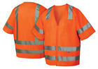 Pyramex 5 Pocket Safety Vest with Reflective Stripes ANSI/ISEA 107-2010 Class 3
