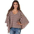 BILLABONG Ladies AFTER MIDNIGHT Poncho Knit Hoodie Jumper Top (8 10 12) NEW