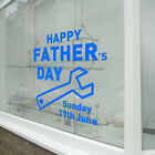 Happy Fathers Day Wall & Window Stickers Dad Decals Shop A Window Display A347