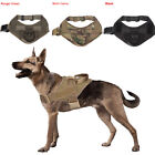 Tactical K9 Trainning Service Dog Harness Nylon Vest with Handle Control