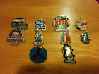Advertising Pins Badges Mitsubishi, Dolce Vita, Bic, Ford, Orangina, Total, elf