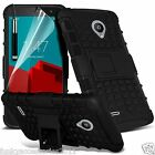 Shockproof Heavy Duty Dual Layer Phone Case Cover + Kick Stand for Vodafone