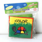 Intelligence development Cloth Cognize Book Educational Toy for Kid Baby good ff