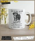 Cockapoo Dog Mug ~ Perfect Gift can be personalised ~ Vintage Style