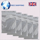 "Self-Grip Seal Plain Clear Resealable Poly Plastic Bags - Size GL4 3.5"" x 4.5"""