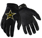07047-001 Fox Dirtpaw Rockstar Black  Race MX ATV Off Road Race Mens Glove