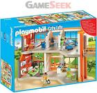 PLAYMOBIL 6657 CITY LIFE FURNISHED CHILDRENS HOSPITAL - DOLLS AND PLAYSETS NEW