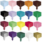 Plastic TABLECOVER Table Cloth Cover Birthdays Party Baby Shower Wedding BBQ