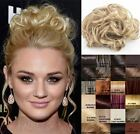 LADIES SMALL SIZE CURLY HAIR SCRUNCHIE ELASTIC BAND WRAP AROUND 90008X
