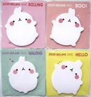 Sticky Molang Basic Adhesive Paper / Sticky Notes (Your Choice of Design)