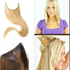 Invisible 100% human hair extensions one piece flip in full set 24inch 100g 130g