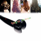 Professional Automatic Hair Curler Roller Styler Tool Wave Curl Machine Blk Pink