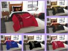 NHL Licensed 5 Piece Twin Comforter Shams Sheets Bed Set In A Bag - Choose Team
