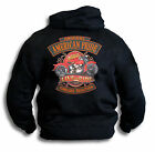 Biker American Pride Live To Ride 2 Timeless Tradition Mens Hoody Sm - 2XL