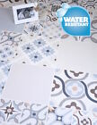 Water resistant click cork laminate floor patterned tile Granorte Retile Bold