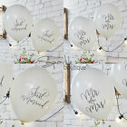 Boho Wedding Balloons x10 -Shabby Chic/Vintage Theme-Reception Venue Decorations