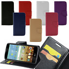 For LG K10 PU Leather Flip Lux Wallet Case ID Card Slot