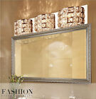 Modern LED Crystal Wall Lights Bathroom Make-up Mirror Lights Wall lamp 8115U