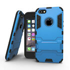 Hybrid Dual Layer Protection Case Shockproof Cover w/ Stand for iPhone 5/5s/SE