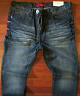 Guess Slim Straight Leg Jeans Men's Size 36 X 32 Classic Distressed Wash ~ NEW