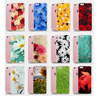 Rubber Soft TPU Silicone Slim Painting Flower Case Cover For iPhone 5 6 6S Plus
