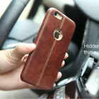 Luxury Leather Back Case Cover Protection For Apple iPhone X 8 PLUS 7 6 6S plus