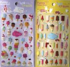 Funny Sticker World Ice Cream Epoxy Sticker Sheet (Your Choice)~KAWAII!!!
