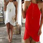 Women Sexy Sleeveless Chiffion Bandage Vest Party Evening Summer Ladies Dress