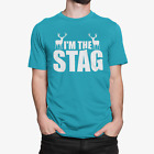 Stag Do T-Shirt I'M THE STAG perfect for the Groom on the Stag Party