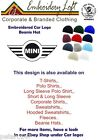MINI LOGO EMBROIDERED BEANIE HAT.. 11 COLOURS OF HATS