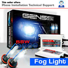 GENSSI Fog HID Kit Foglight Bulbs White Blue Xenon Conversion Light Ballasts