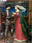 Tristan and Isolde by Waterhouse (Classic Myth Art)