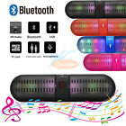 Wireless Bluetooth Speaker Mini Super Bass With LED For iPhone Samsung Tablet