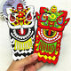 Cool fashion China lion dance protector rubber soft case for iphone6 6S plus