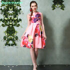 2016 New Fashion Women Dresses Floral Printing Dresses Sleeveless Summer Dress