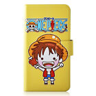 Japan Cartoon One Piece PU Leather Flip Case Cover For HTC 22