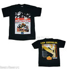 Led Zeppelin Youth t-shirt Japan Tour 100% cotton Classic Front & Back Print NEW