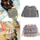 Vintage Women Bag Handbag Shoulder Tote Satchel Messenger Cross Body Bucket Bags