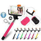 Lot of 25 Extendable Handheld Bluetooth Selfie Stick For iPhone Samsung Phone