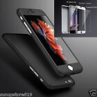 Luxury Hybrid Tempered Glass +Acrylic Hard Case Cover For Apple iPhone 6 6S Plus