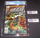Daredevil #168 CGC 9.2 from 1981 White Pages   Origin & 1st appearance Elektra