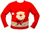 Fun Novelty Christmas Jumper Grotto Unisex Santa Snowman Reindeer Party Night