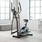 Body Champ BRM3671 Elliptical Dual Trainer with Seat