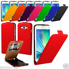 Genuine Leather Magnetic Flip Credit Card Slot Case Cover For Samsung Galaxy A3