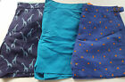"BODEN SWIMMING SHORTS SWIM TRUNKS BNWOT 30""- 44"" BLUE SPOT- TURQ - GIRAFFE"