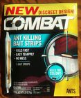 COMBAT ANT KILLING BAIT STRIPS DISCREET 5 BAIT STRIPS KILLS THE COLONY FAST