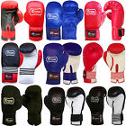 REX LEATHER BOXING GLOVES TRAINING SPARRING PUNCHBAG GLOVES AGE 12 TO 16 YEARS