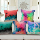 "Fantasy Watercolours 18""x45cm Decor Cotton Linen Cushion cover Pillowcase"