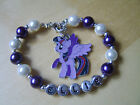 Stunning Personalised My Little Pony Bracelet. Made to order. Choice of Charm