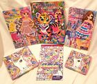 """Lisa Frank Napkins 10"""" 13"""" Stickers Fashion Diva Dolls Coloring Book or Lots New"""